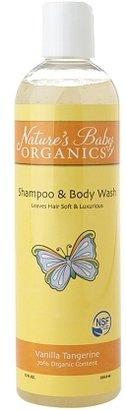 Nature's Baby Natures Baby Organics Shampoo & Body Wash NSF Vanilla Tangerine 12.0fl oz