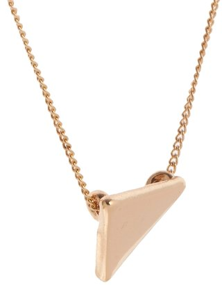 Asos Triangle Long Pendant Necklace