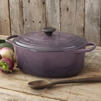 Le Creuset Signature Cassis Oval French Oven, 5 qt.