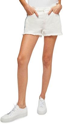Monroe Cutoff Shorts with Spliced Seams