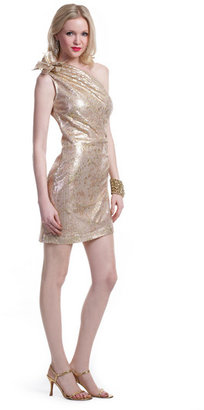 Mark & James by Badgley Mischka Glitter Gallery Dress