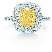 Tiffany & Co. Soleste® yellow diamond ring