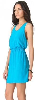 Autograph Addison Contrast Back Dress