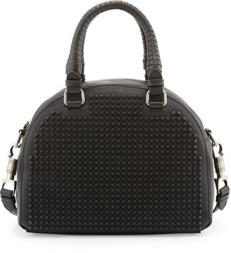 Christian Louboutin Panettone Small Studded Satchel Bag