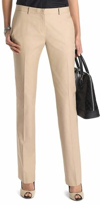 Plain-Front Non-Iron Chinos $89.50 thestylecure.com