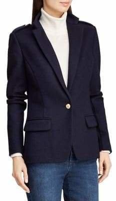Lauren Ralph Lauren Slim-Fit Wool Blazer