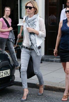 Siwy Denim Hannah Slim Crop jean in One Love as Seen On Kate Moss