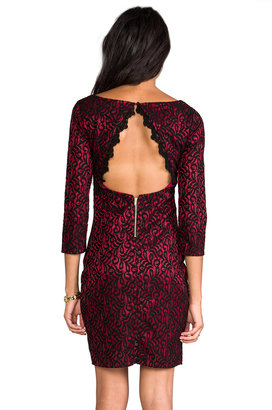 MM Couture by Miss Me Open Back Lace Dress