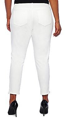 JCPenney a.n.a® Ankle-Zip Skinny Jeans - Plus
