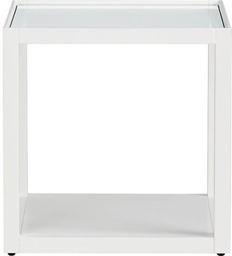 Crate & Barrel Mimic White Cube