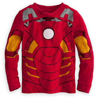 Disney Iron Man Deluxe PJ Pal for Boys