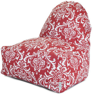 Majestic Home Kick-It Chair Red French Quarter
