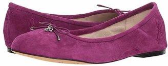 Sam Edelman Felicia (Copper Penny Soft Crinkle Metallic Leather) Women's Flat Shoes