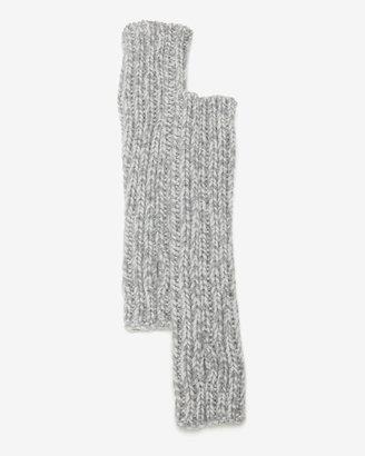 Missoni Fingerless Knit Gloves: Grey