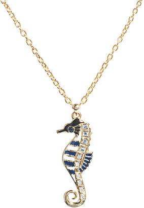 Libertine By Giles Deacon Seahorse Pendant