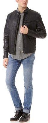 Levi's Leather Biker Jacket