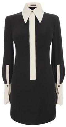 Alexander McQueen Contrasting Split Cuff Shirt Dress