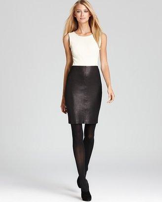 Theory Dress - Feria Maximus Sleeveless Leather
