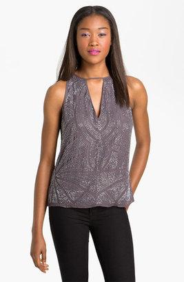 Parker Embellished Silk Top