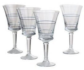 Nautica Set of 4 Yacht Club Iced Beverage