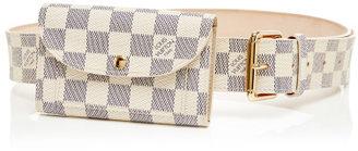 Louis Vuitton Vintage Damier Azur Pochette Solo B Multi