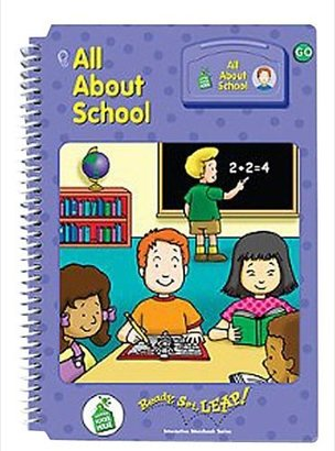 Leapfrog School Ready, Set, Leap All About School Book - Level 1A