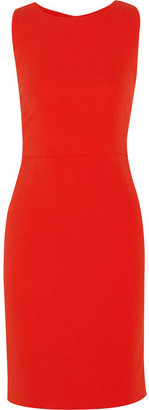 Antonio Berardi Folded-back stretch-crepe dress
