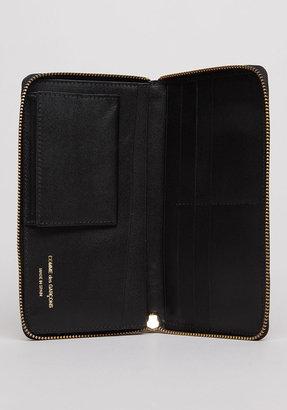 Comme des Garcons long zip wallet