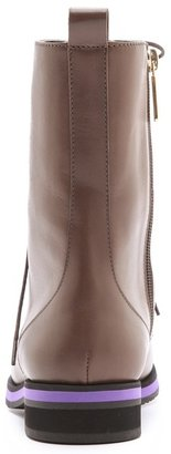 Studio Pollini Contrast Sole Boots