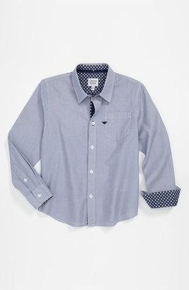 Armani Junior Woven Shirt (Big Boys)