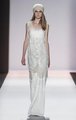 BCBGMAXAZRIA Runway Elise Beaded Dress
