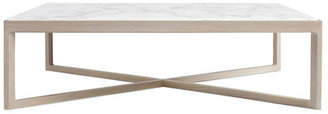 Design Within Reach Krusin Coffee Table with Marble Tabletop