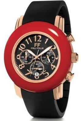 Folli Follie Urban Spin Red and Black Watch
