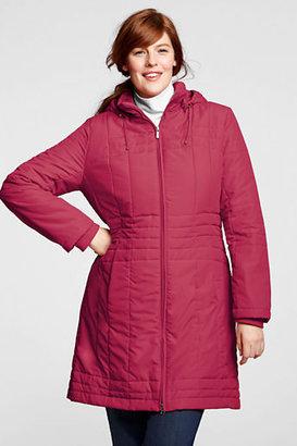 Lands' End Women's Plus Size PolarThin Insulator Coat