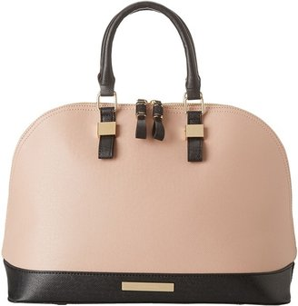 Ivanka Trump Kelly Dome Satchel (Bliss Spazzolato) - Bags and Luggage