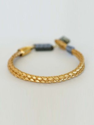 Kris Nations Mesilla Leather Rope Bracelet