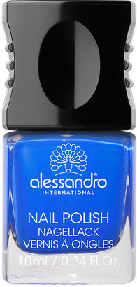 Alessandro International Nail Polish, Blue Nuit 0.34 oz (10 ml)