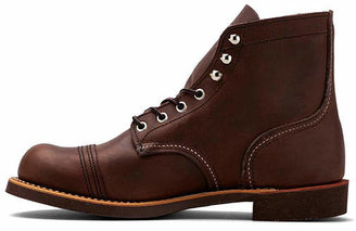 Red Wing Shoes Iron Ranger 6 Iron Ranger in Chocolate