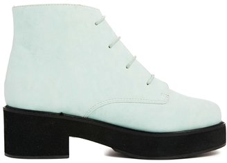 Asos REVOLUTION Ankle Boots - Green