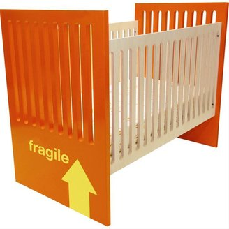 "Ducduc ""Fragile"" Baby Crib by NYC"
