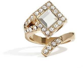 GUESS Deco Wrap Gold-Tone Ring