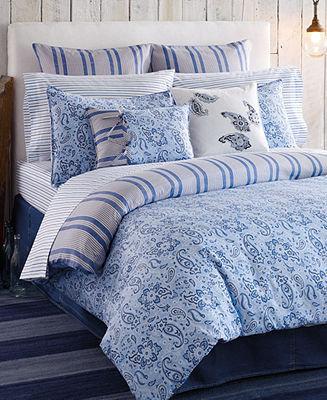 Tucker CLOSEOUT! Tommy Hilfiger Bedding, Island Twin Comforter Set