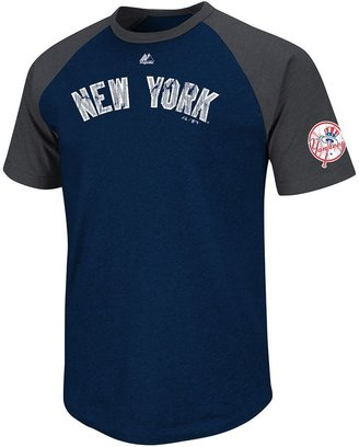 New York Yankees Majestic big leaguer raglan tee - men