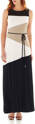 Studio 1 Colorblock Maxi Dress