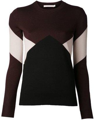 Jason Wu colour block sweater