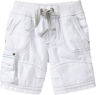 Old Navy Drawstring Rip-Stop Cargo Shorts for Baby