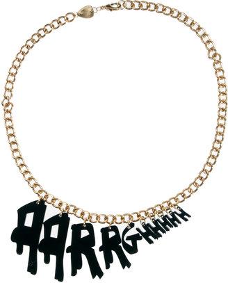 Tatty Devine Aarrghhhh Necklace