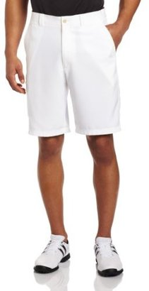 PGA TOUR Men's Flat Front Tech Cargo Short With Side Pocket