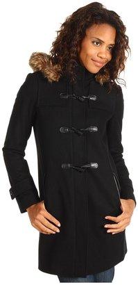 Tommy Hilfiger Hooded Duffel Coat (Black) - Apparel