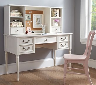 Pottery Barn Kids Blythe Desk & Tall Hutch